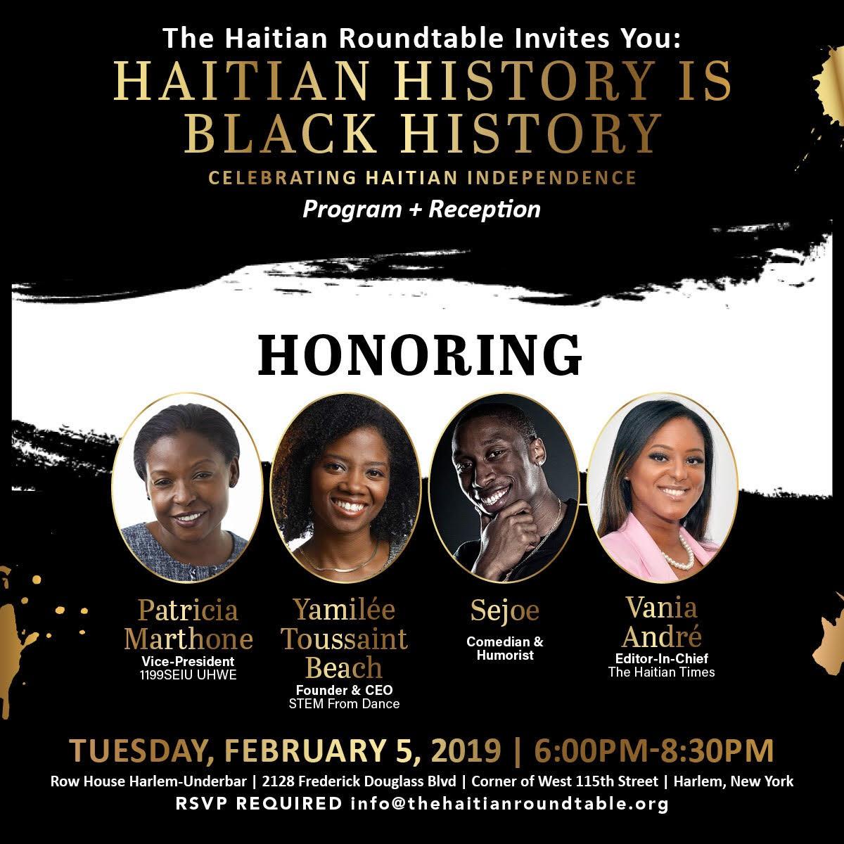 Haitian History is Black History